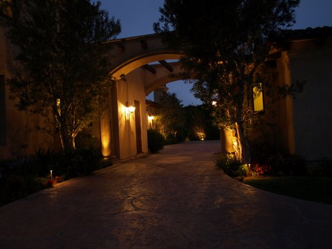 Landscape Lighting Lake Sherwood Modern Landscape  Lighting