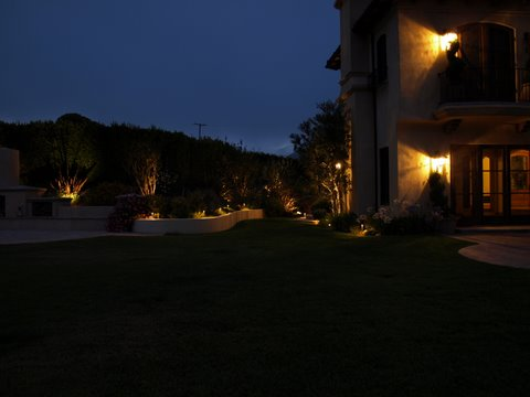 Landscape Lighting Lake Sherwood Patio Garden